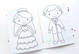 Free Printable Wedding Activity Book Cute Photos For The Kids