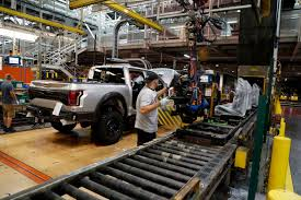 US Industrial Production Ticks Up 0.1 Percent In October Michigan Supplier Fire Idles 4000 At Ford Truck Plant In Dearborn Tops Resurgent Us Car Industry 2013 Sales Results Show The Could Reopen Two Plants Next Friday F150 Chassis Go Through Assembly Fords Video Inside Resigned To See How The 2015 F Announces Plan To Cut Production Save Costs Photos And Ripping Up History Truck Doors For Allnew Await Takes Costly Gamble On Launch Of Its Pickup Toledo Blade Plant Vision Sustainable Manufacturing Restarts Production
