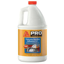 Tile Adhesive Remover Home Depot by Sikalatex 1 Gal Concrete Bonding Adhesive And Acrylic Fortifier