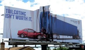 100 Guerilla Truck Show Creative Outdoor Ads Ads Marketing Examples Billboard