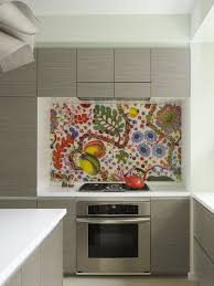 How To Install Backsplash For A Eclectic Kitchen With Minimal And Bohemian Apartment Fabric By Incorporated