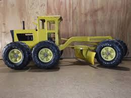 BIG TONKA TRUCK MR-970 Road Grader Vintage Metal Construction Toys ...