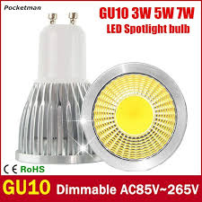 bright gu10 led bulb 3w 5w 7w led l light gu10 cob
