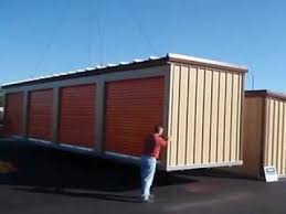 Relocatable Self Storage Buildings