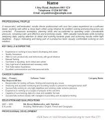 Qa Entry Level Resume Sample Nice Testing With
