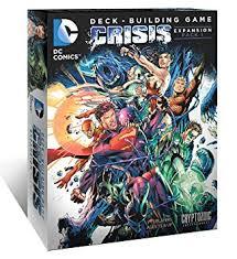 amazon com dc comics deck building game crisis expansion pack 1