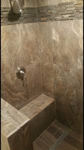 want woodlooktile in your shower floor use a linear drain and
