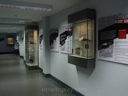 Wall Mounted Glass Cabinet In Museum And Exhibition Hall UD MU23