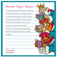 Una Carta Especial De Los Reyes Magos A Los Niños Name