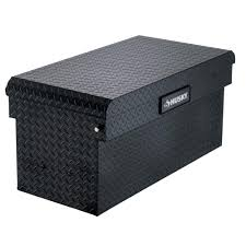 100 Tool Box For Trucks Husky 408 In X 204 In X 191 In Matte Black Aluminum Universal