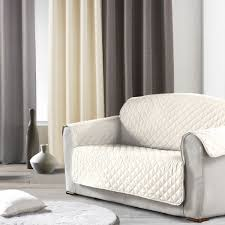 protege canapé protège canapé 3 places naturel housse de canapé eminza