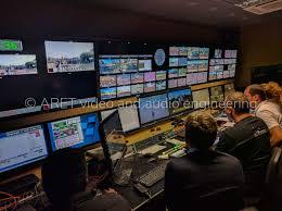 10 HD Cameras Sport Production OB Van - ARET
