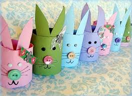 Easy Crafts For Kids Valentines Day Toilet Paper Rabbits Decor Ideas