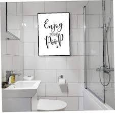 4pcs badezimmer zitate sprüche kunstdrucke satz vier