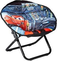 amazon com disney cars 2 toddler saucer chair toys games