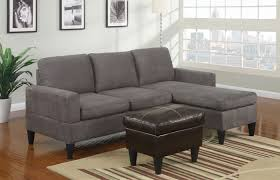 Poundex Bobkona Sectional Sofaottoman by F7285 Grey Microfiber All In One Sectional Sofa Set Brown Ottoman