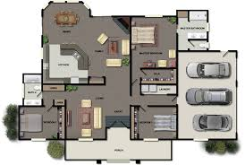 House Plans With Triple Garage