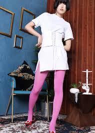 white tunic tee with corset soeurs co