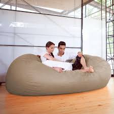 7' Bean Bag Sofa With Removable Cover By Jaxx | Daily Cool ...