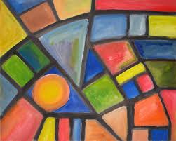Abstract Art Easy Kids Satellite Home Decor 14021