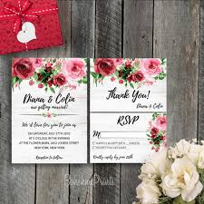 Etsy Wedding Invitations Printable