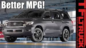 Canucks & Trucks: Is There A Way To Improve Toyota Sequoia MPG? City ...