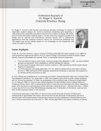 Professional Bio Examples Business Development Sample Resume Biography Save Unique Template Of Publish Plus
