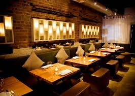 Contemporary Decor Restaurant Wall Lighting Interior Design Rayuela Lower East Side NYC