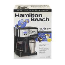 Hamilton Beach Flex Brew 2 Way Coffee Maker