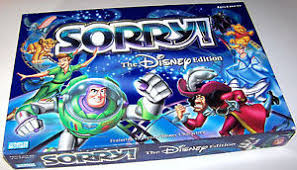 Image Is Loading SORRY Disney Edition Classic Family Fun Magical Board