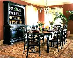 Rooms To Go China Cabinet Dining Room Table Classic Country Black
