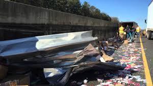 100 Fedex Truck Wreck FedEx Truck Wrecks On I75 YouTube