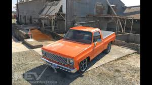 1974 Chevy C10 Shortbed - YouTube