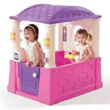 Step2 Furniture Toys by Step2 Playhouse Cottage Children Kids Indoor Outdoor Play House
