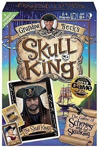 Grandpa Beck's Skull King The Game of Scheming and Skulking Card Game
