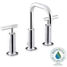 Kohler Bathtubs Home Depot by Kohler Elmbrook 8 In Widespread 2 Handle Bathroom Faucet In