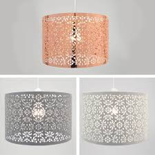 Punched Tin Lamp Shades Uk by Ornate Moroccan Metal Ceiling Pendant Light Shade Decoration