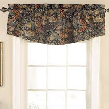 Waverly Curtains And Valances by Rhapsody Midnight Blue Window Treatment By Waverly