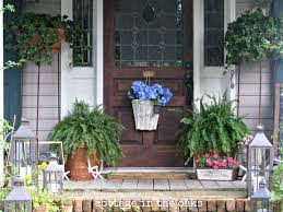 Inexpensive Screened In Porch Decorating Ideas by Summer Front Porch Summer Front Porches Front Porches And Porch