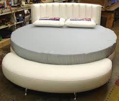 Apartments Attractive Round Mattress Platform Set Bed Headboard