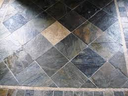 the best way to slate tile flooring