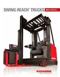 100 Raymond Lift Trucks 9000 Series Brochure PDF Catalogs Technical