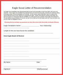 eagle scout re mendation