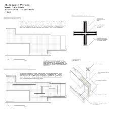 100 Barcelona Pavilion Elevation Architecture As Aesthetics