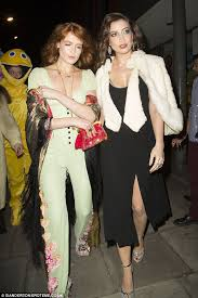 Retro Looks The Stars Sported Vintage Accessories With Daisy Wearing Silver Jewellery And Florence