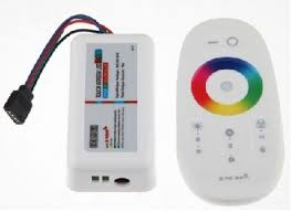 Touch Screen Remote With WiFi App Controller for 12V RGB LED Strip