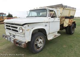 1973 Dodge D600 Feed Mixer Truck | Item DB2539 | SOLD! May 3...