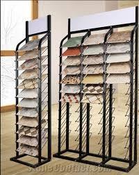 metal display stand racks tiles displays quartz racks marble