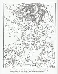 West African Goddess Mawu