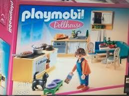 playmobil puppenhaus dollhouse küche wohnzimmer schlafzimmer